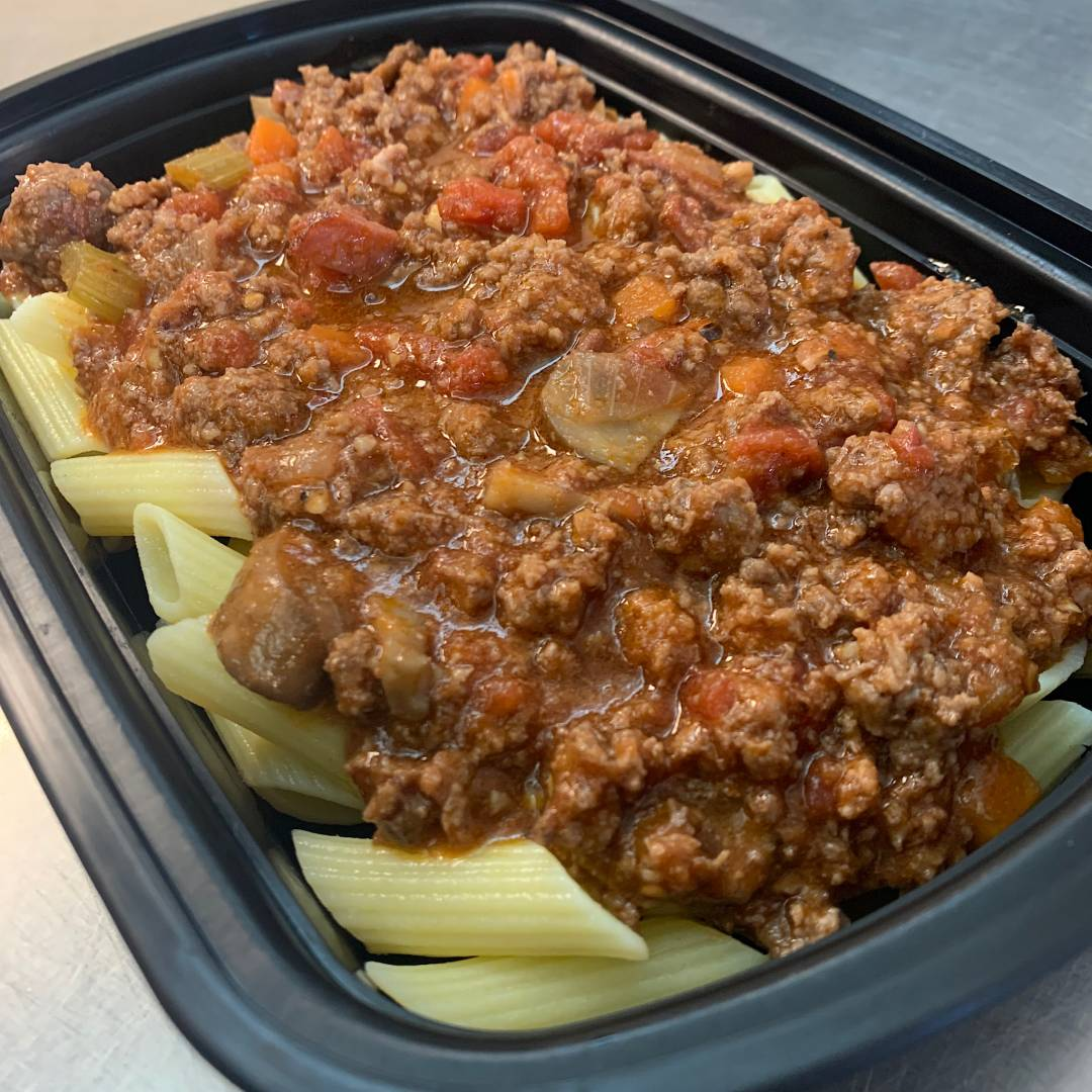Penne Bolognese GF (BOWL OF GAINZ)