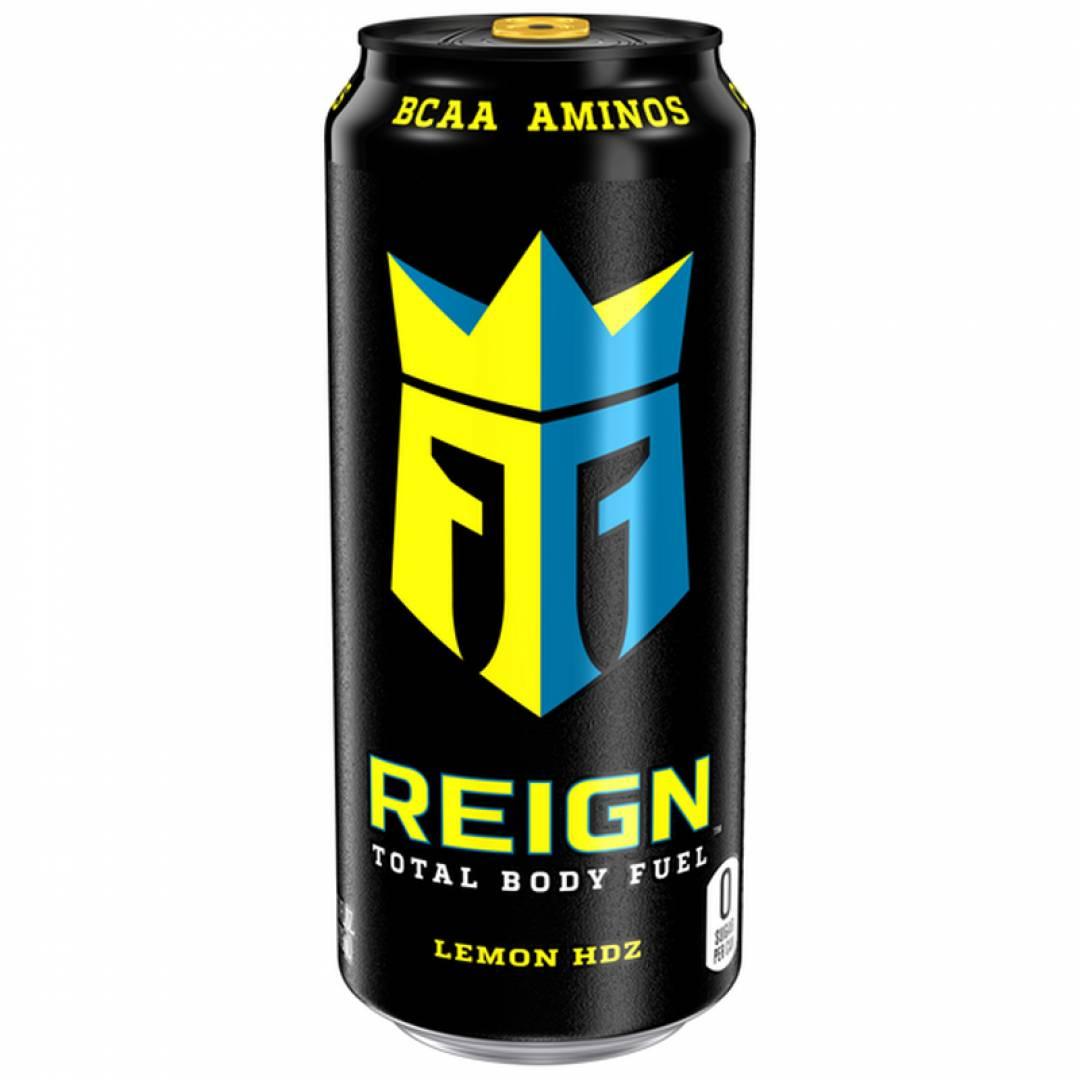 BEVERAGE REIGN ENERGY LEMON HDZ